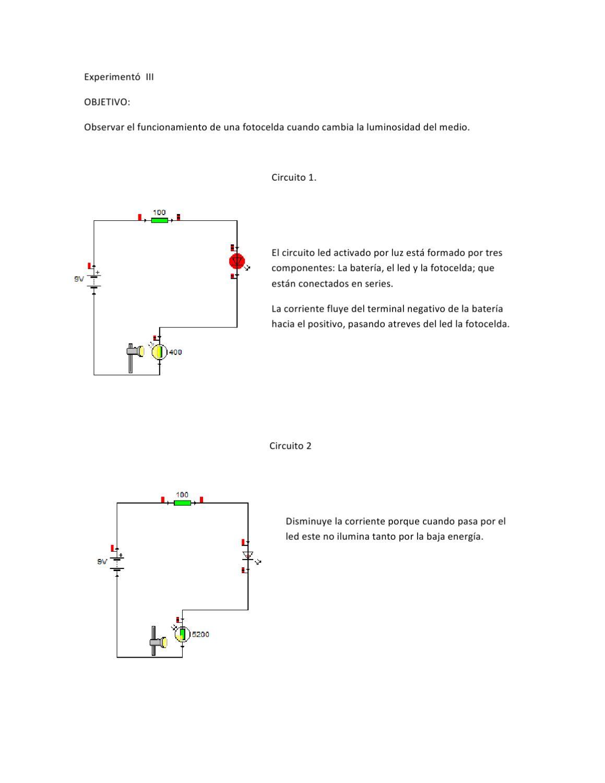 Circuito Led : Experimento 3 by juan arteaga issuu
