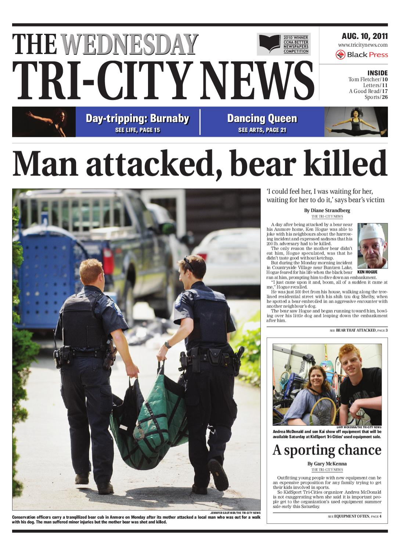 Wednesday August 10 2011 Tri City News By Tri City News