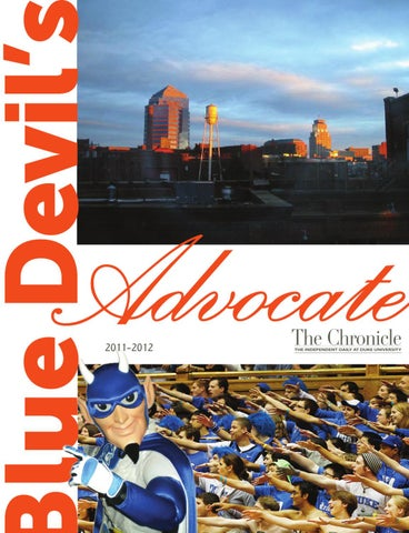 2011 Blue Devil Advocate By Duke Chronicle Issuu