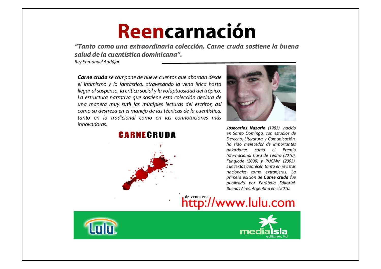 Carne Cruda By Nazario Comunicación Estratégica Issuu