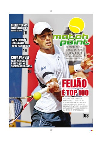 f179473c6ae Match Point - Agosto 2011 by Rafael Medeiros - issuu
