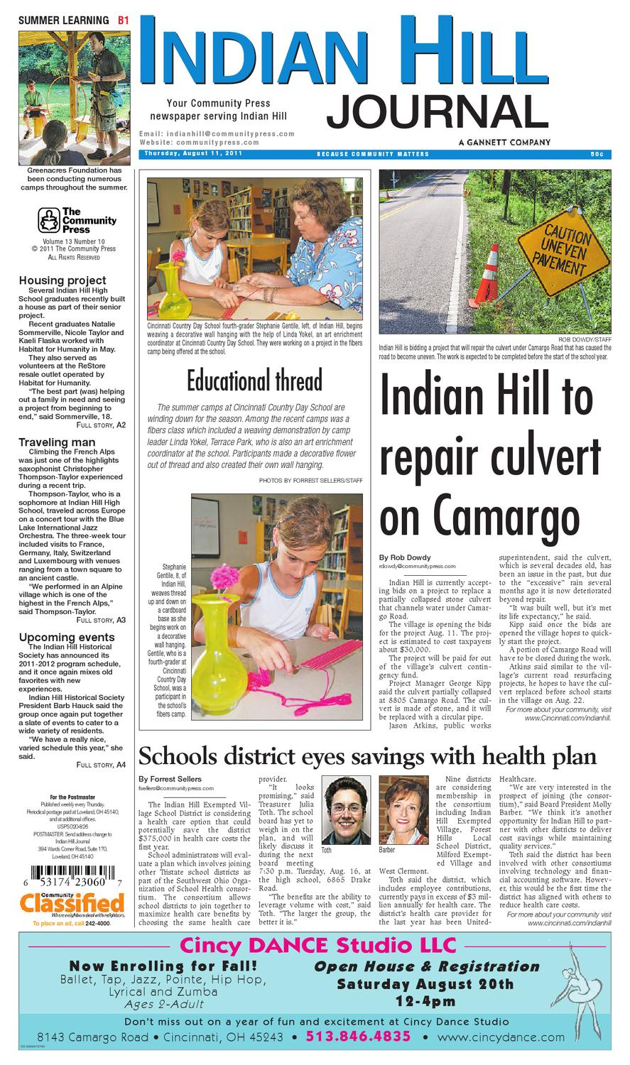 47ab99a85e5de4 indian-hill-journal-081011 by Enquirer Media - issuu