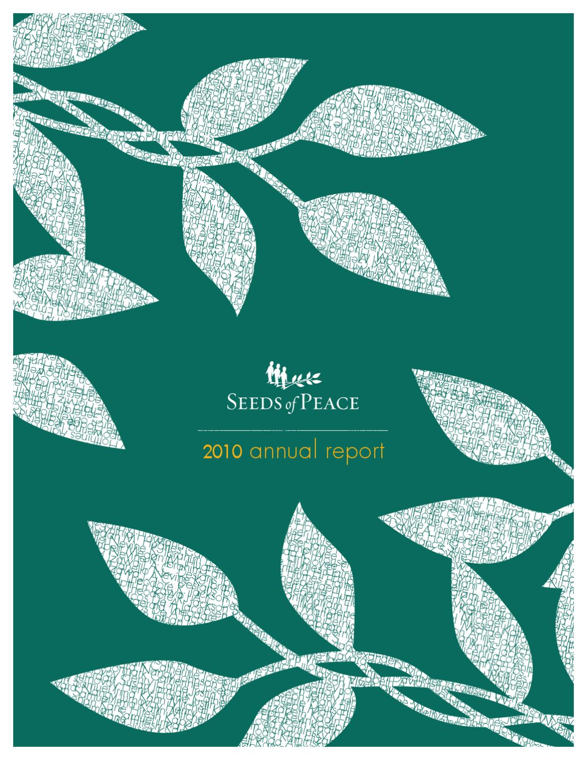 2010ARsml by Seeds of Peace - issuu