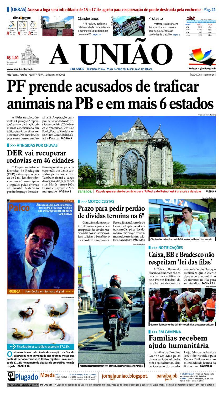 9908b9f2a5b97 JORNAL A UNIÃO by Jornal A União - issuu