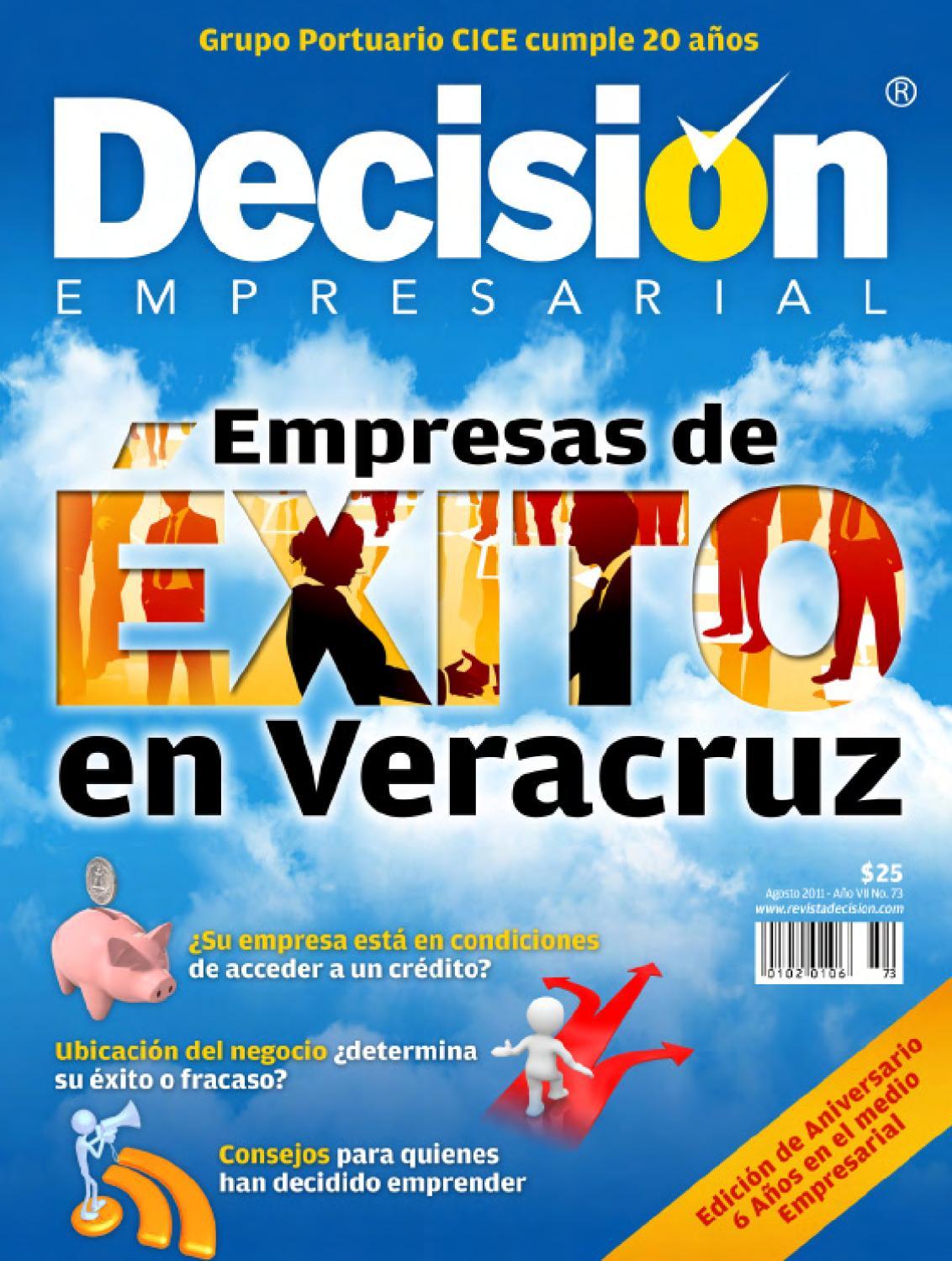 Revista Decisi N Empresarial No 73 By Revista Decisi N  # Muebles Hijos De Rafael Bandera Vivar