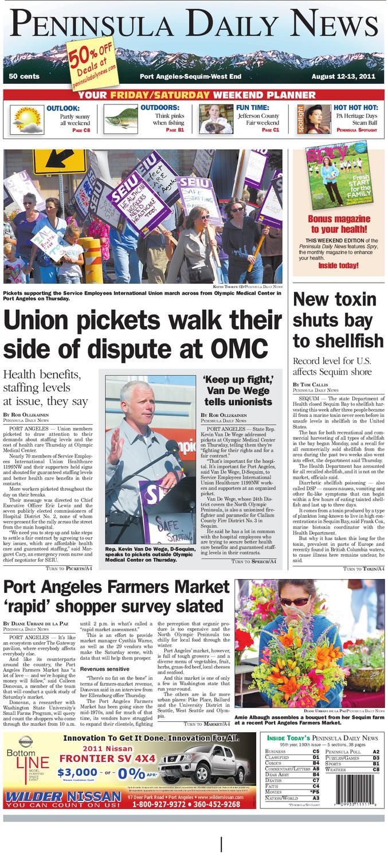 Pdn08122011c By Peninsula Daily News Sequim Gazette Issuu