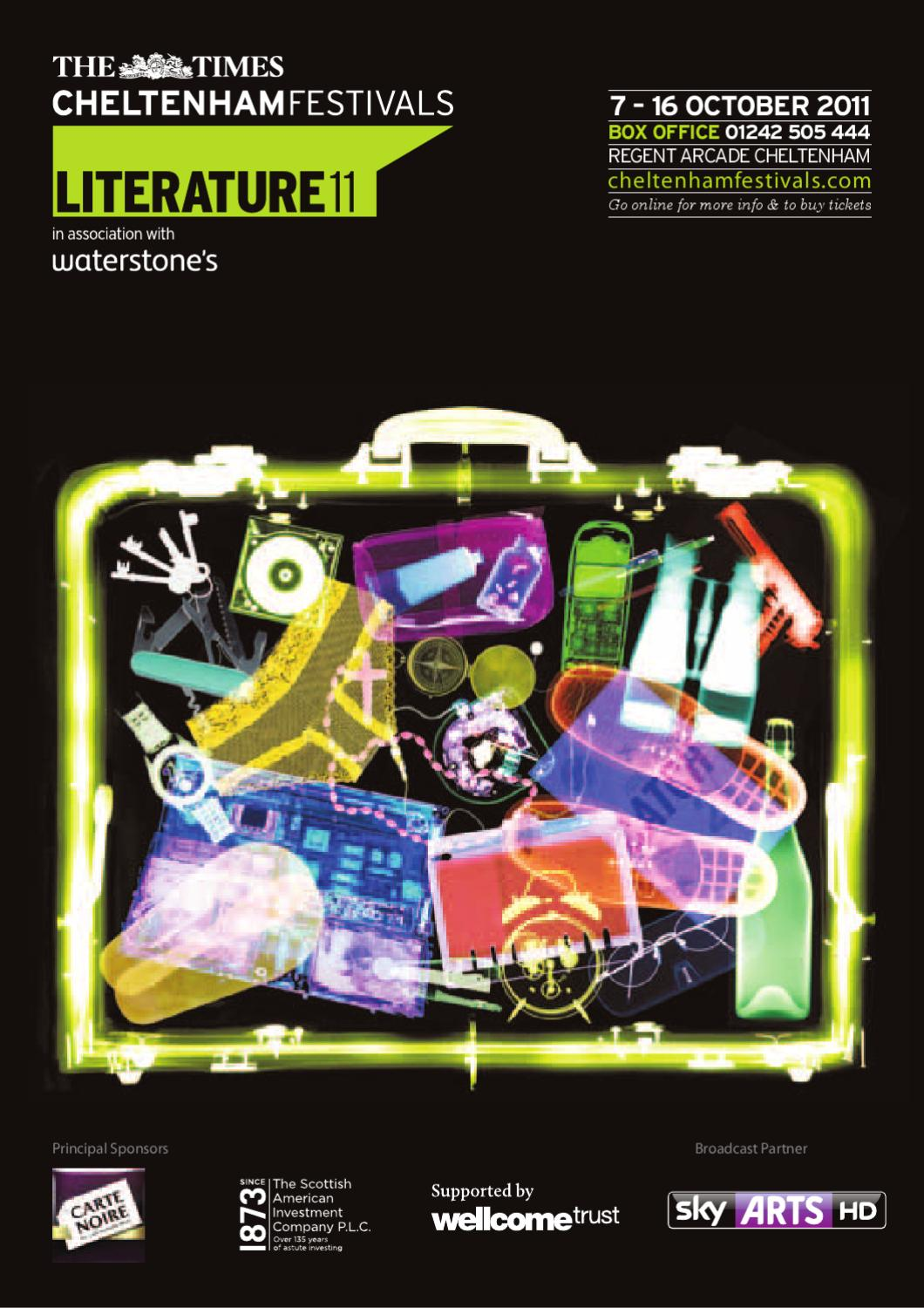 the times cheltenham literature festival 2011 brochure