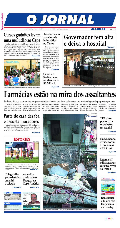 OJORNAL 16 07 2011 by OJORNAL SISTEMA DE COMUNICACAO - issuu 4821cd7b850bf