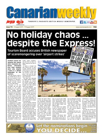 d038ad3c9fa25d Canarian Weekly Issue 715 by Canarian Weekly - issuu