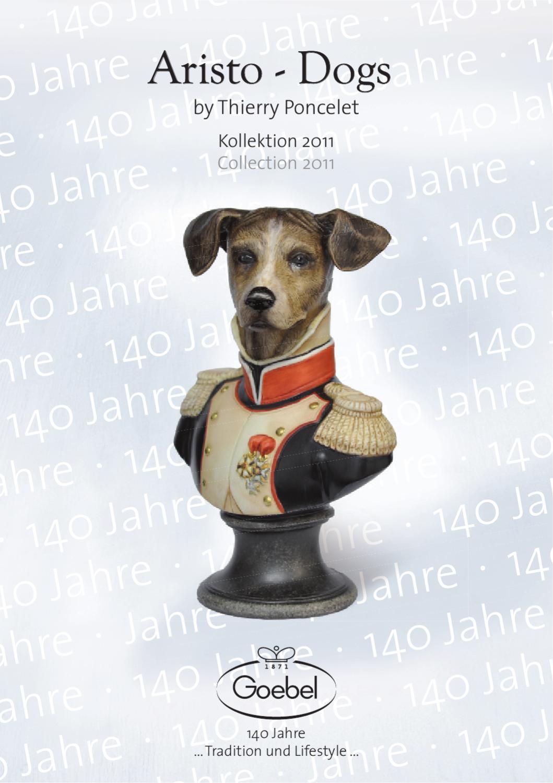 Goebel Aristo Dogs Porzellan Sammel-Tasse Général von Blackweter Poncelet