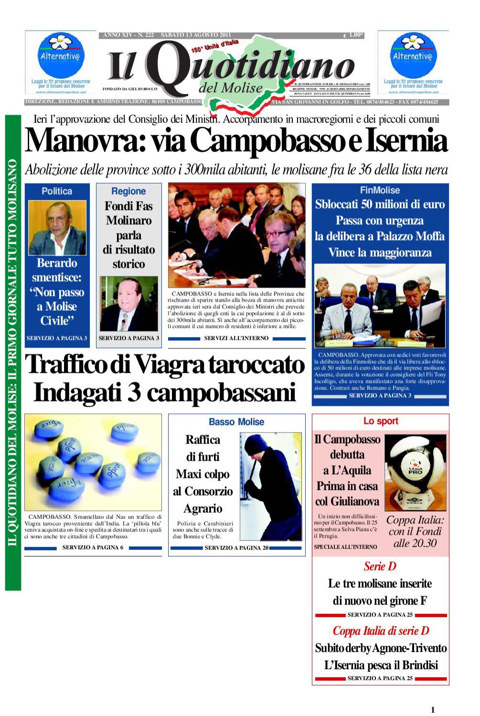 bbd23dee50 il quotidiano del molise del 13 agosto 2011 by Bruno Marrone - issuu