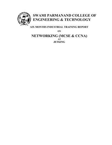 Ccna Training Report Pdf