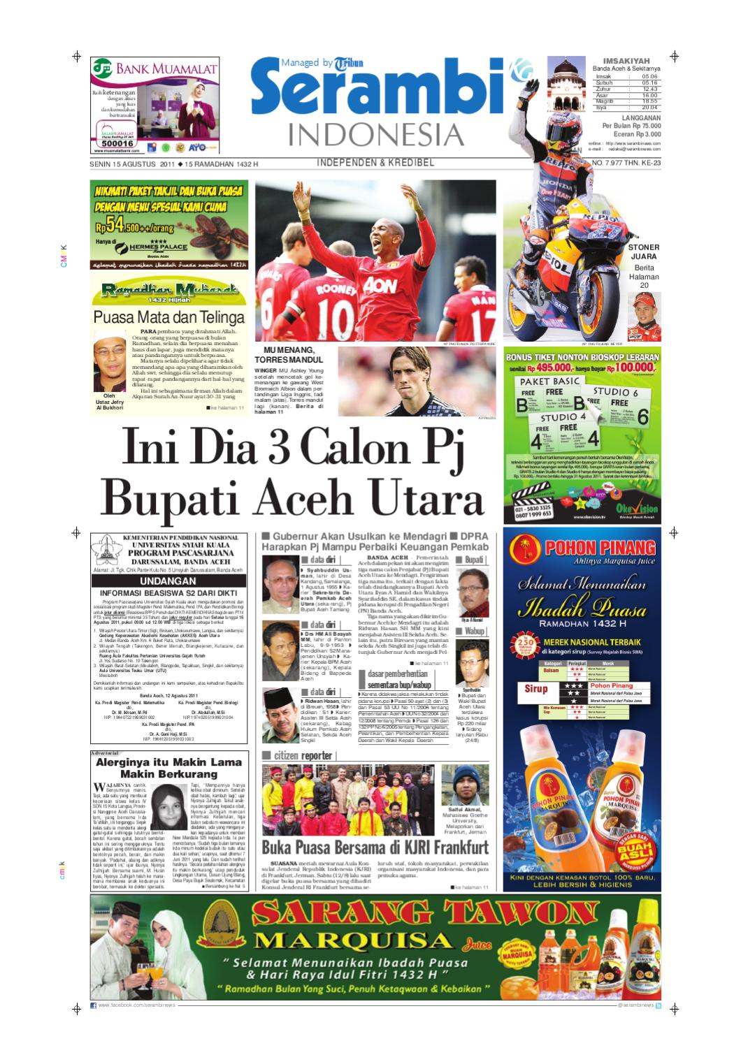 Serambi Indonesia by Serambinews Indonesia - issuu afc3da91db