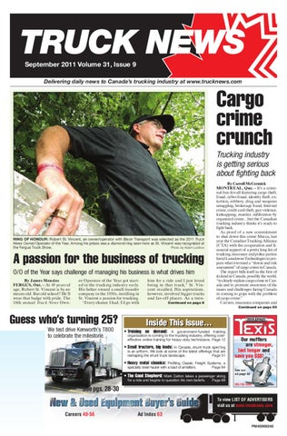 Truck News September 2011 by Annex Business Media - issuu on