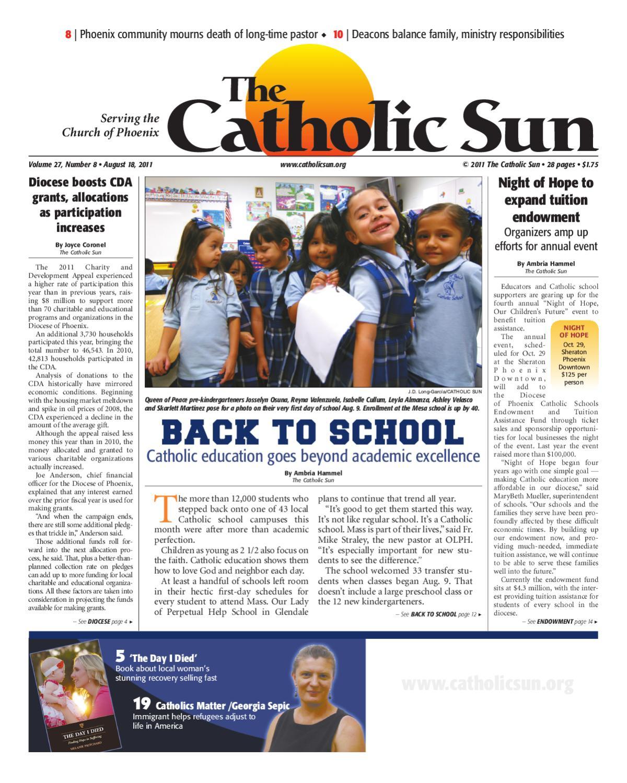 The Catholic Sun - August 15, 2011 by Saint Kolbe