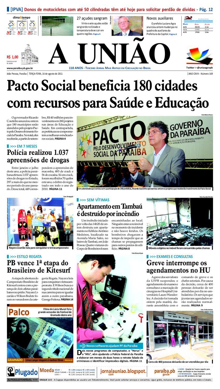 JORNAL A UNIÃO by Jornal A União - issuu 10a67aa0d68