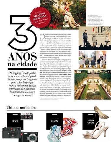 6b1cc7c62673c Revista Cidade Jardim - Edição 22 by Shopping Cidade Jardim - issuu