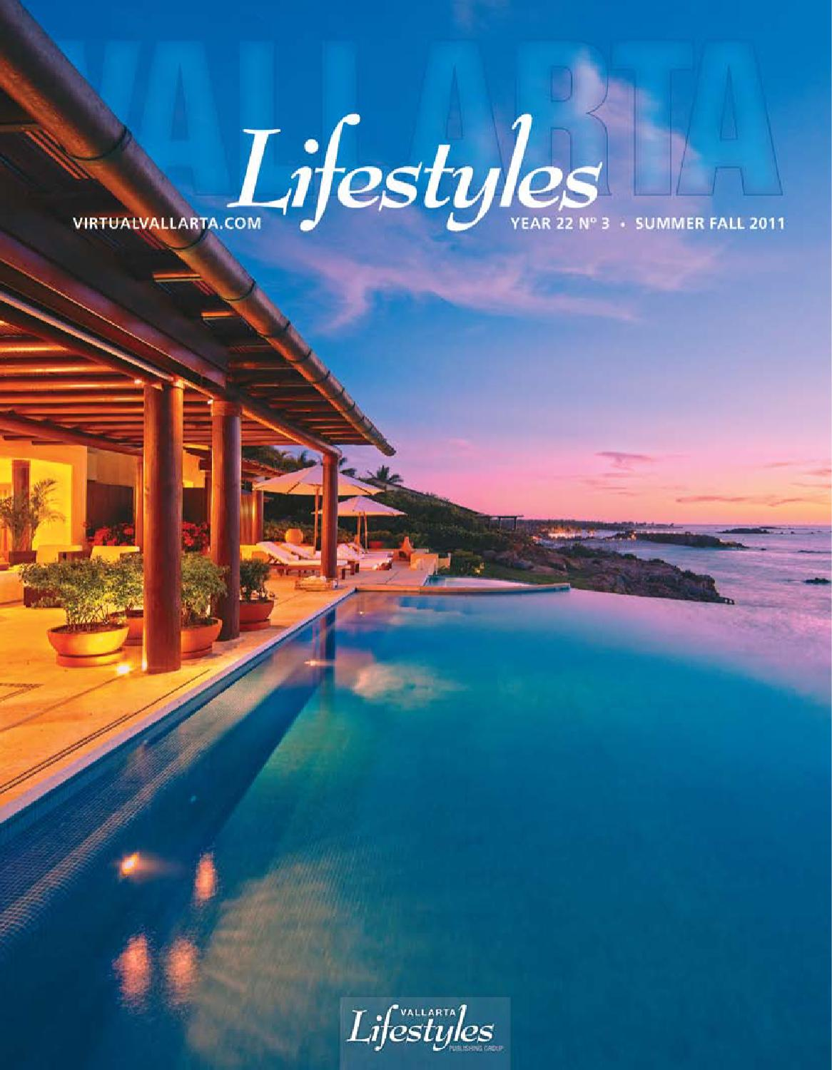 Vallarta Lifestyles Summer Fall 2011 By Vallarta Lifestyles  # Muebles Pitillal