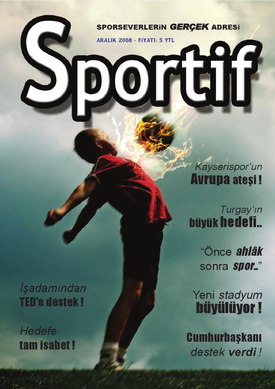 Sportif Dergi 13 Sayi By Ayhan Baynal Issuu