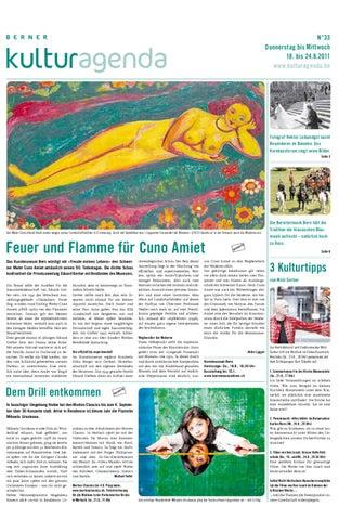 Berner kulturagenda 2011 N° 33 by Berner kulturagenda - issuu