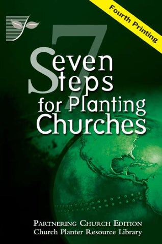 seven steps for planting churches partner edition by mark weible issuu rh issuu com Our Church Anniversary Clip Art Purpose of Church Anniversary Services
