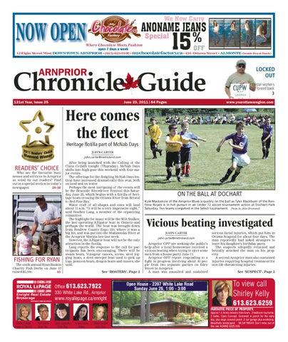 Arnprior Chronicle Guide By Metroland East Arnprior Chronicle