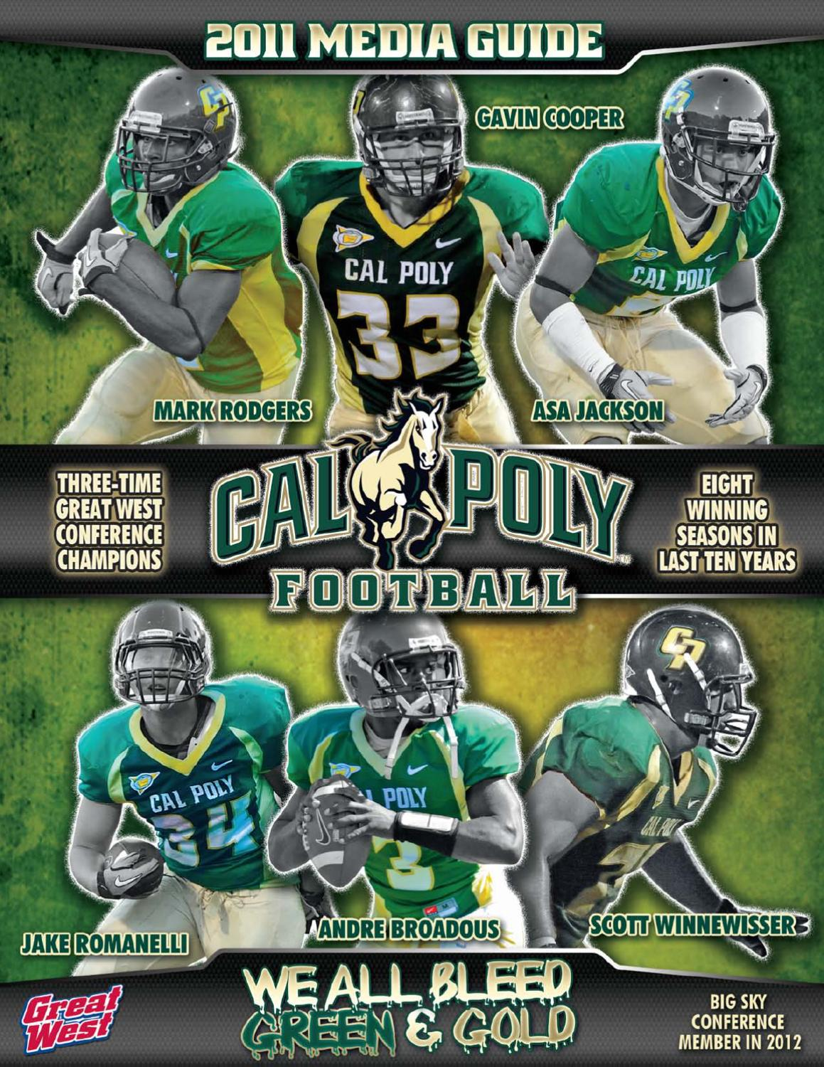 2011 Cal Poly Football Media Guide By Cal Poly Athletics Issuu
