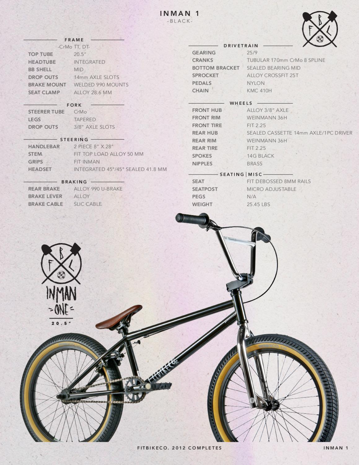 FIT 2012 BMX BIKES by Fitbikeco  - issuu