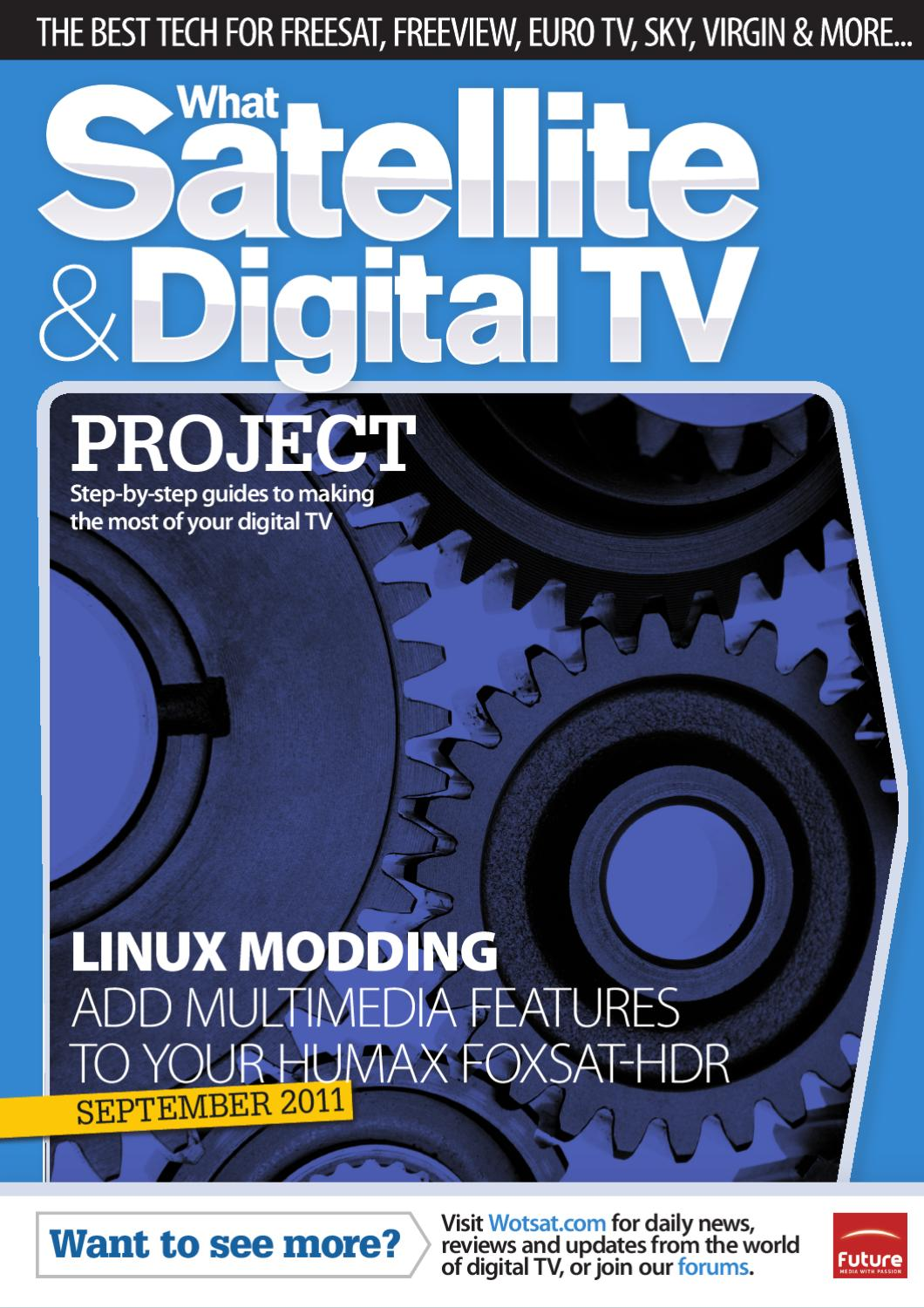 Project: Add multimedia features to your Humax Foxsat-HDR by What Satellite  & Digital TV - issuu