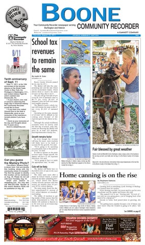Boone Community Recorder 081811 By Enquirer Media Issuu