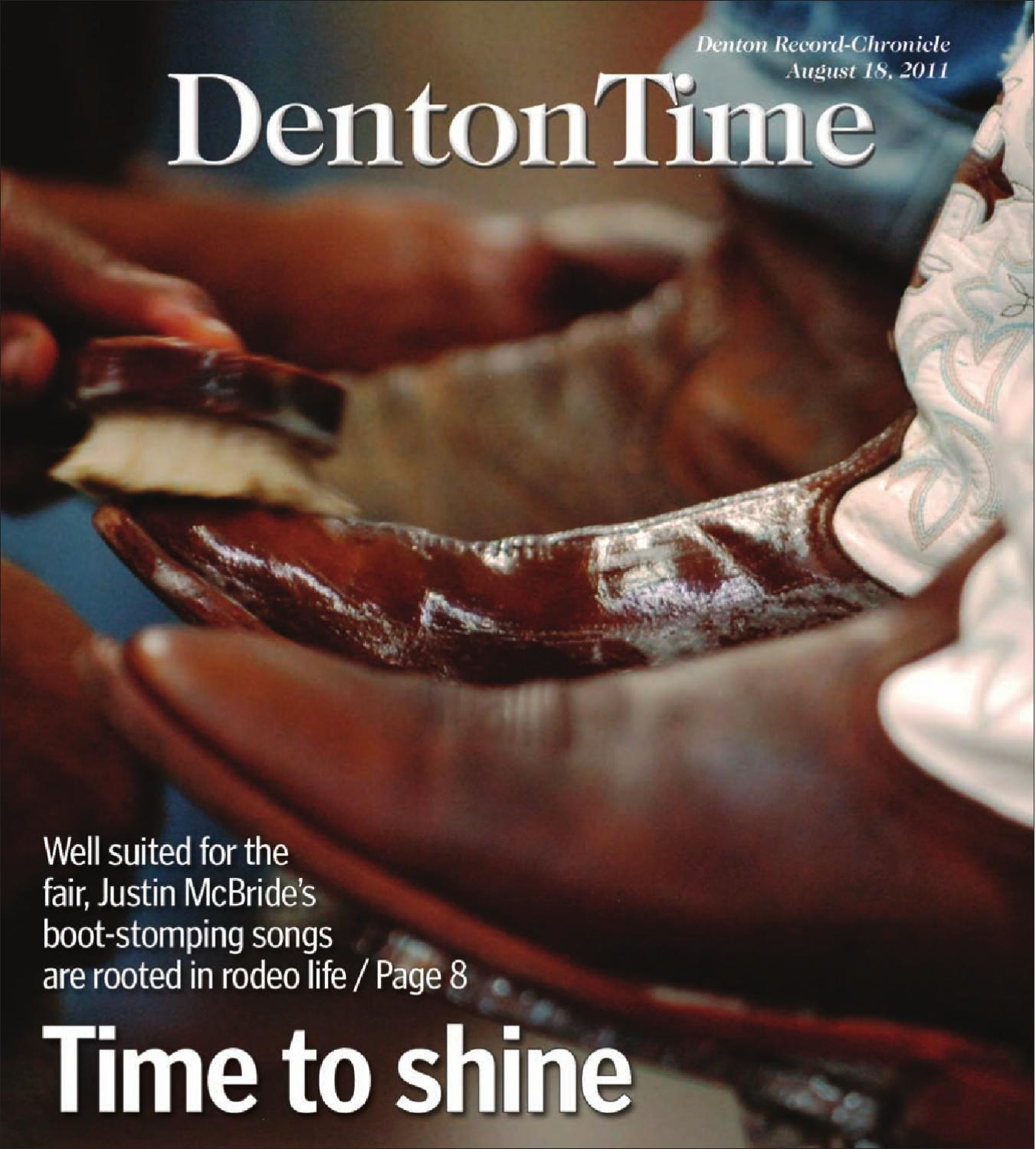 August 18 Denton Time 2011 by Larry McBride - issuu