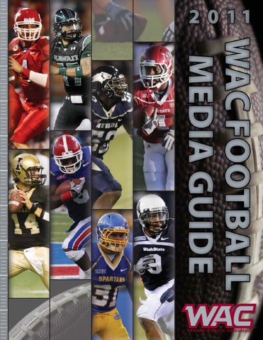 2011 WAC Football Media Guide by Western Athletic Conference