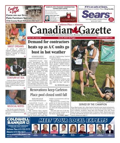 0d97fb8a237528 Carleton Place   Almonte Canadian Gazette by Metroland Ottawa - issuu