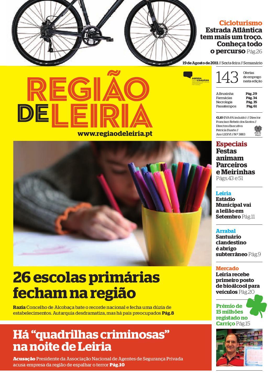 e88ae176d567 Região de Leiria, 19 de Agosto de 2011 by Região de Leiria Jornal - issuu