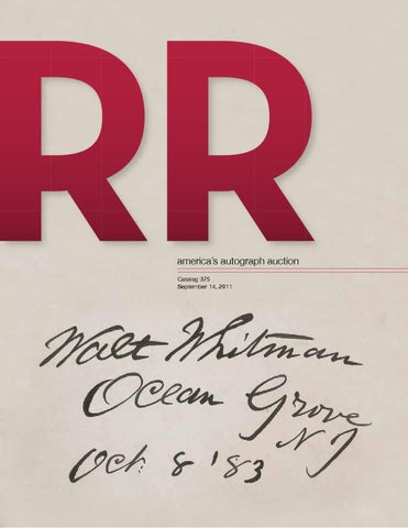 ec11cd78023 RR Auction Quality Autograph Auction 375 by RR Auction - issuu
