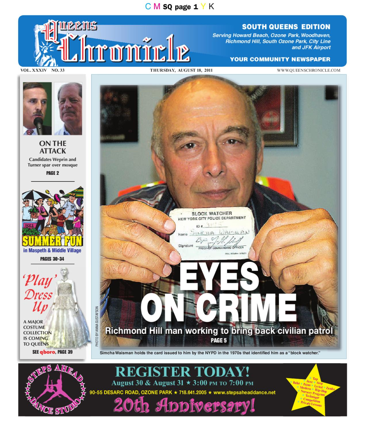 Queens Chronicle 8-18-11 by Queens Chronicle - issuu