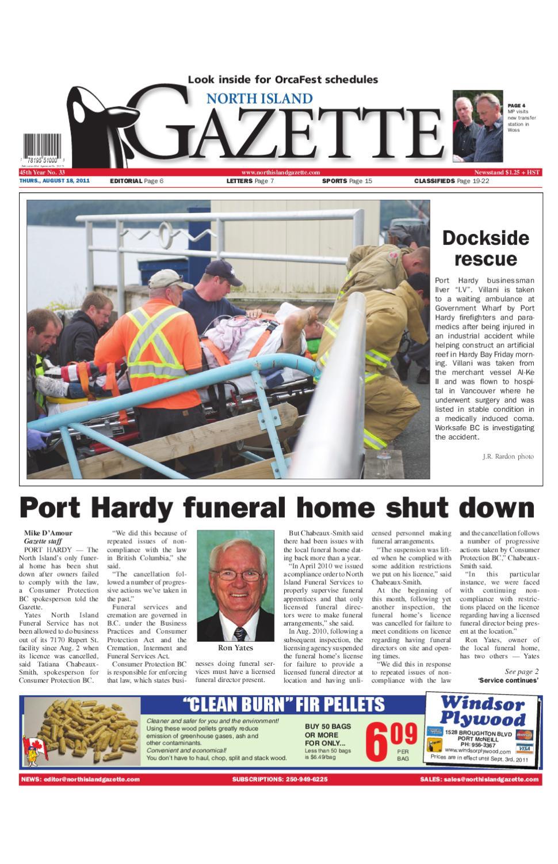 North Island Funeral Port Hardy