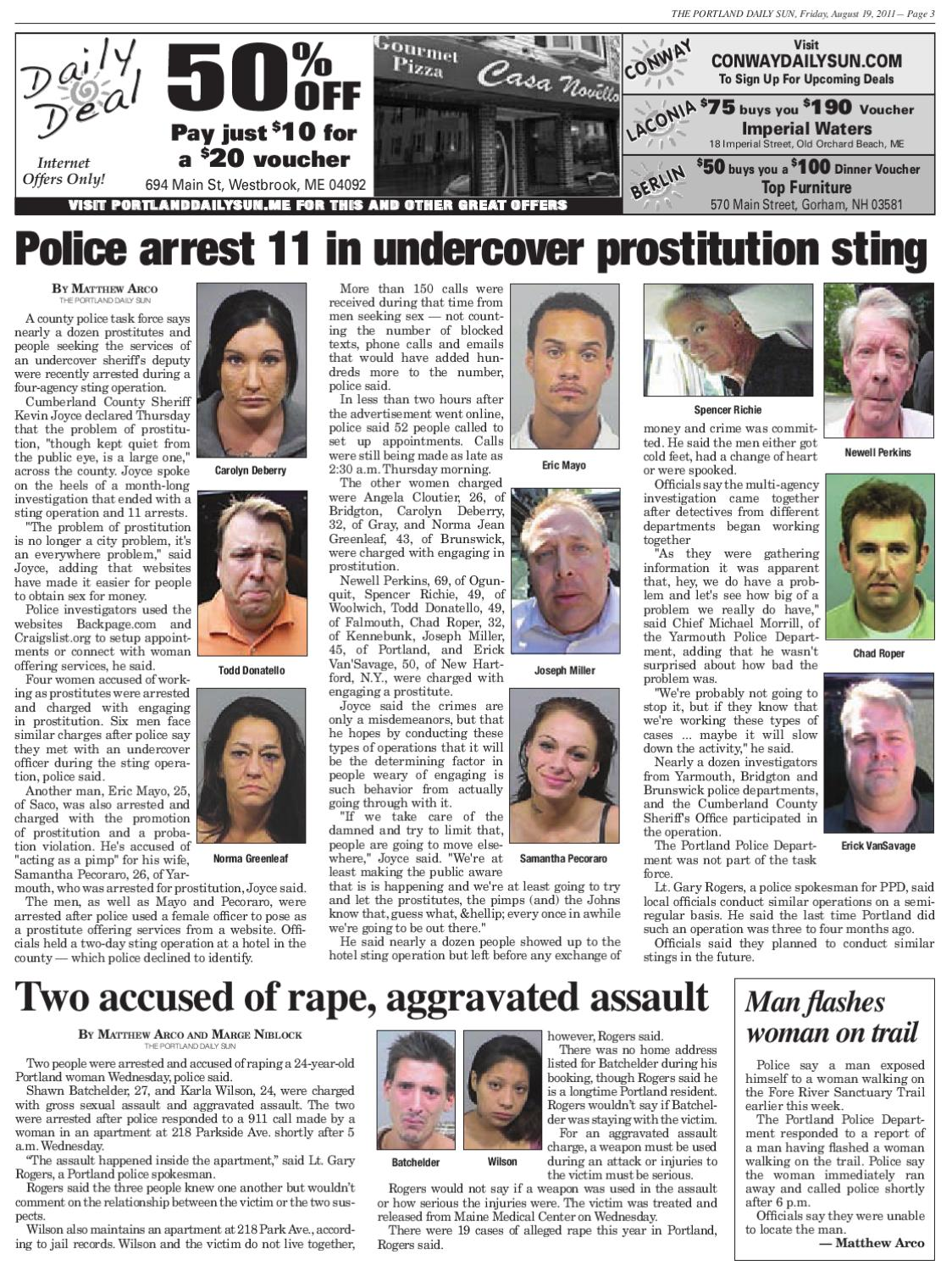The Portland Daily Sun, Friday, August 19, 2011 By Daily Sun   Issuu