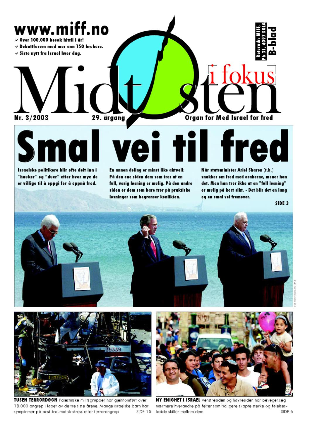 d08cf6c6 2003-03 Midtøsten i fokus by Med Israel for fred (MIFF) - issuu