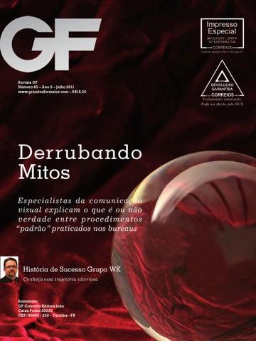 Revista GF Número 60 – Ano 5 – Julho 2011 www.grandesformatos.com – R 15,00 72ac25b931