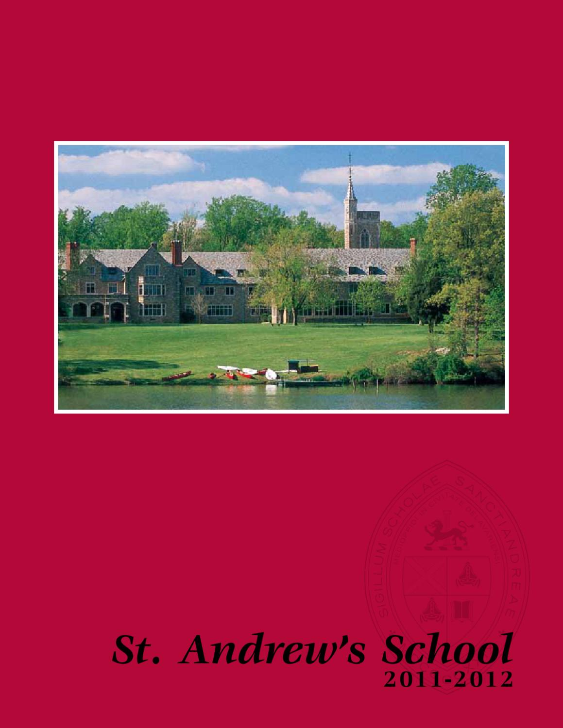 St  Andrew's Viewbook 2011 by St  Andrew's School - issuu