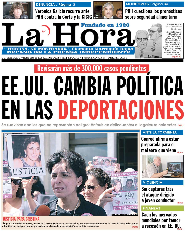 Diario La Hora 19-08-2011 by La Hora - issuu cc04e6649f4bb