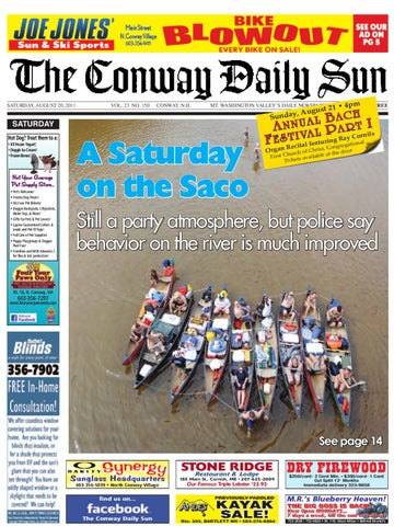 The Conway Daily Sun Saturday August 20 2011 By Daily Sun Issuu