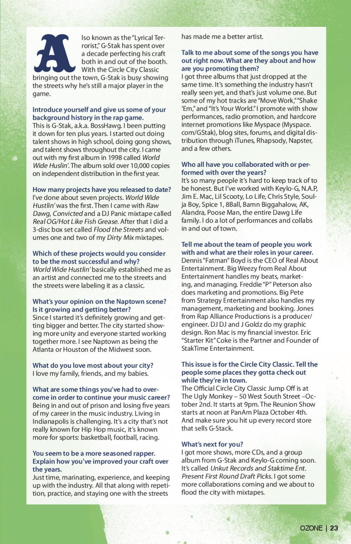 Ozone Mag Circle City Classic 2008 by Ozone Magazine Inc - issuu