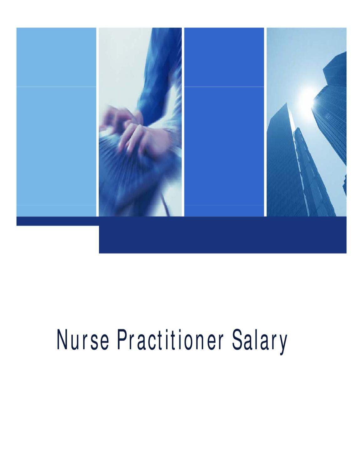 Nurse Practitioner Salary by John Carson