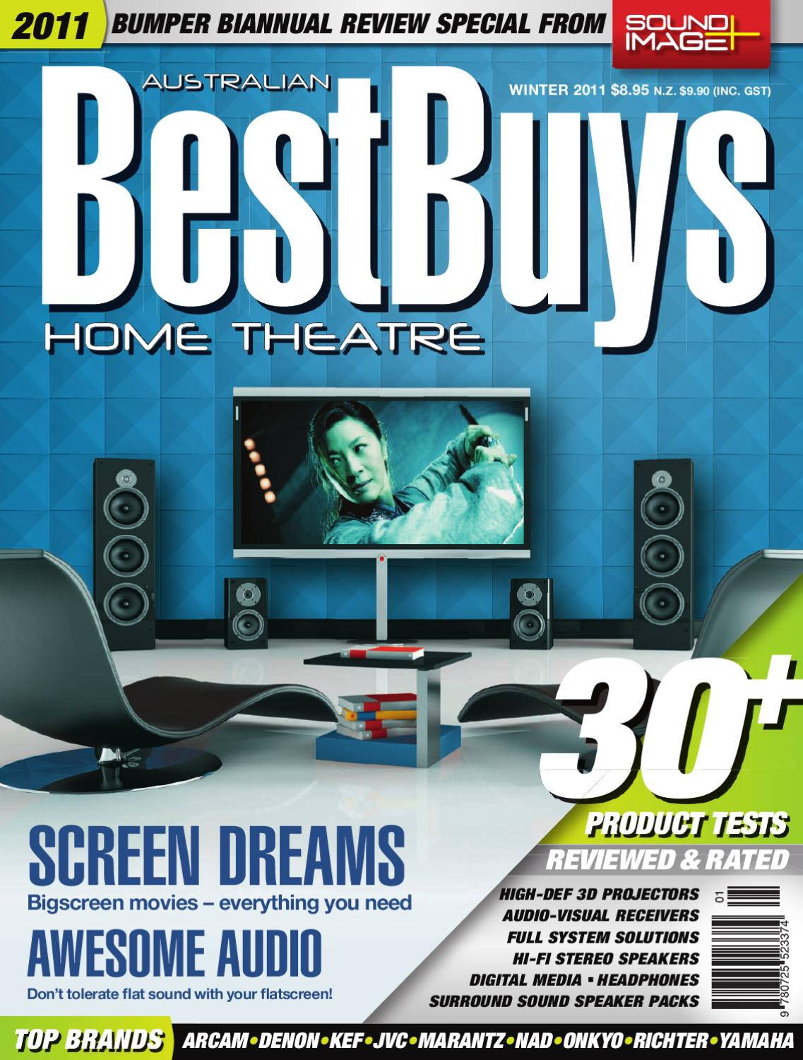 Best Buys Home Theatre Winter 2011 by nextmedia Pty Ltd - issuu