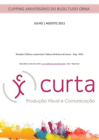 8272a2204 Clipping do Aniversário do blog Tudo Orna 2011 by Curta Comunica - issuu