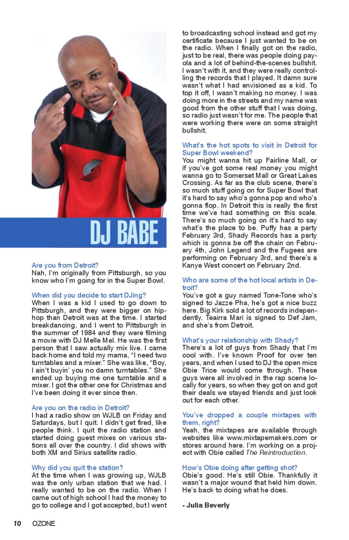Ozone Mag Super Bowl 2006 special edition by Ozone Magazine
