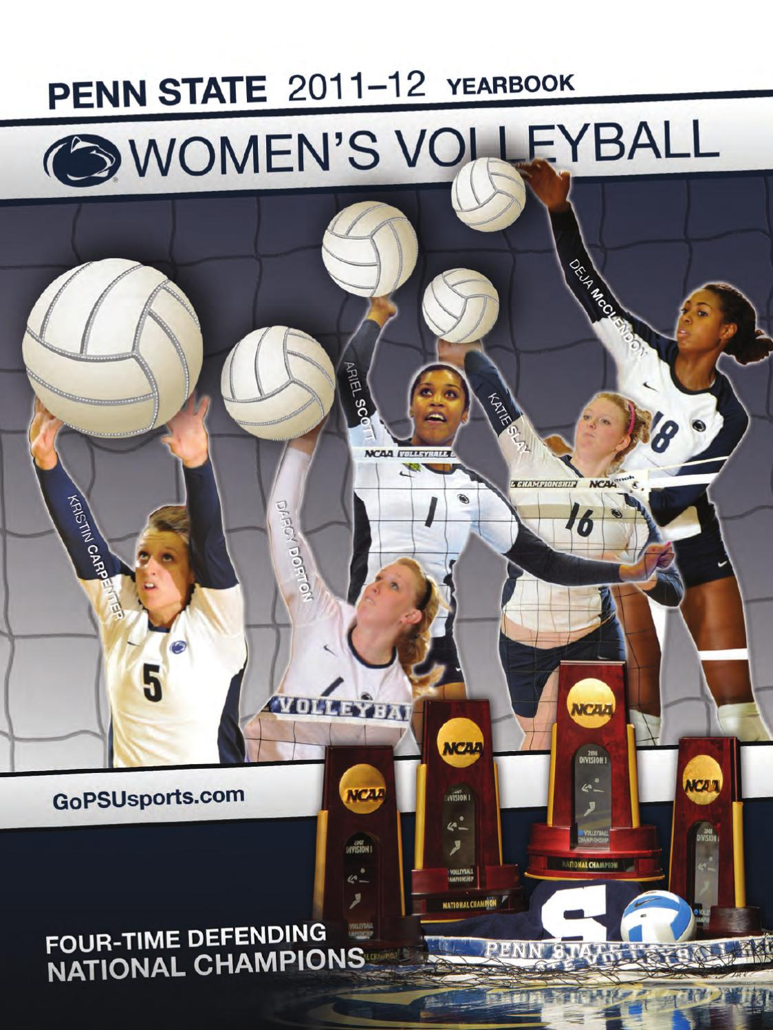 2011 Penn State Women s Volleyball Media Guide by Penn State Athletics -  issuu 0fd89b48d