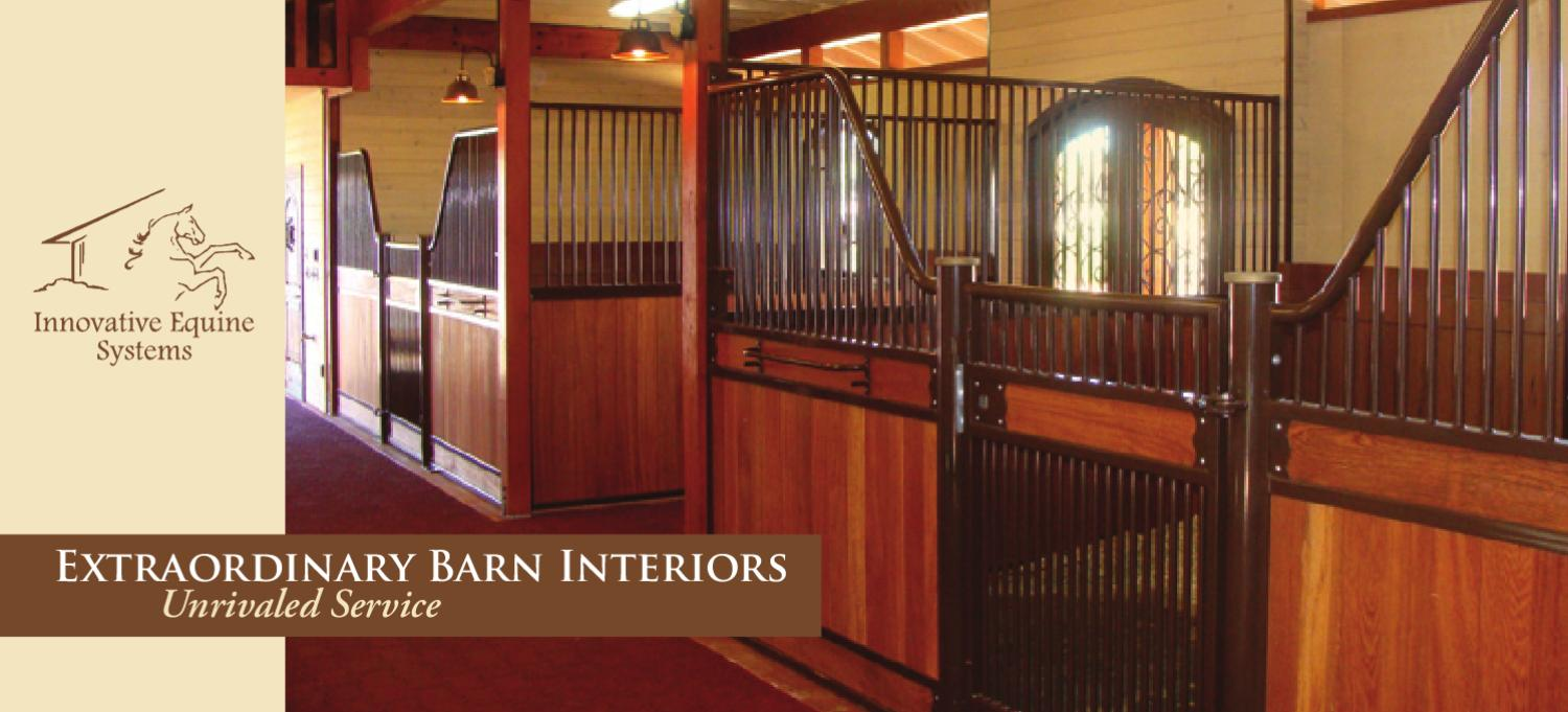 Innovative Equine Systems Catalog By Dennis Marion Issuu